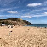 ... mit schönem Strand