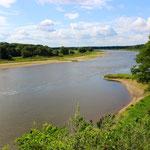 Blick auf die Elbe bei Coswig