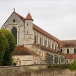 Pontigny mit imposanter Abtei