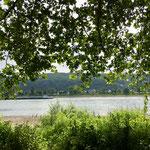 Rheinblick von der Promenade in Bad Hönningen