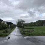 Radweg bei Prüm auf ehemaliger Bahnanlage