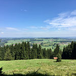 Wandern am Alpspitzberg