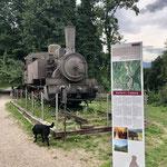 Gute Radwege hufehemaliger Bahnstrecke