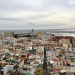 Blick auf Almeria, wo steht der GoGoCruiser?