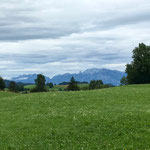 Nesselwang mit Alpenblick
