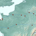 Reiseroute 3100 km