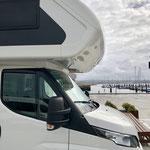 16. SP in A Coruña am Hafen.