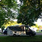 Unter Bäumen in Bad Rappenau