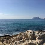 Ausflug nach Moreira, Blick zurück Richtung Calpe