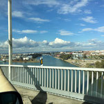 Anfahrt nach Sevilla