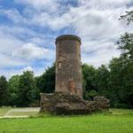 Reste der Burg Uda