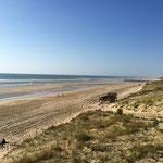 Strand von Mimizan Plage