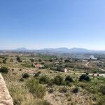 Landschaft bei Fortuna/Murcia