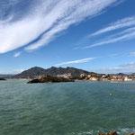 Blick von Puerto auf Bolnuevo