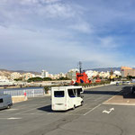 26. SP in Almeria am Fährhafen