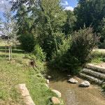 Neu gestalteter Kurpark