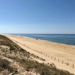 Erstes Ziel erreicht: Atlantikküste in Frankreich