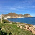 Blick auf die Bucht von San José
