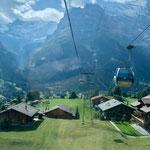 Gondel nach Grindelwald  First