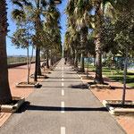 super Radweg nach Balerma