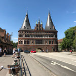 Tagestrip nach Lübeck, Holstentor