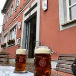 Bestes Bier beim Adler in Schlüsselfeld
