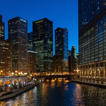 #025 - Chicago River, Trump International Hotel & Tower, Illinois, USA