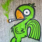 #028 - schräger Vogel