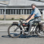 #028 - SOYER Model 250 2.5HP 250ccm, 2,5PS, Bj. 1920 in Frankreich