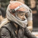 # 041 - Glemseck 101 - 2018 - es glitzert, Lidschatten muss zum Helm passen