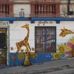 Valparaiso - Place aux tageurs