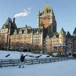 Québec  -  le château Frontenac - Canada