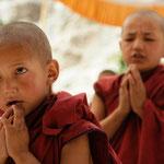 La prière des moinillons - Ladakh