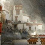Restauration d'un temple - Ladakh