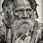 Le mendiant - Indes