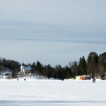 Québec - Lac gelé - Canada