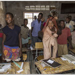 Ecole himba - Namibie