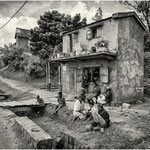 Attente en famille - Madagascar