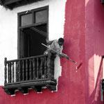 Le peintre - Colombie
