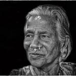 Vieille femme - Indes