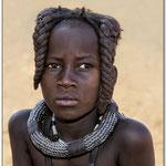 Jeune fille himba - Namibie