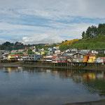 Maisons sur pilotis - Ile de Chiloé