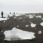marée basse à Skaftafell