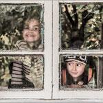 A la fenêtre - Ousbékistan