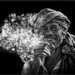 Le fumeur - Indes