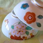 姉妹の子供用お茶碗