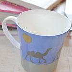 インストラクターコース・ALL単色転写紙で作るマグカップ~シルクロードの世界を単色転写紙で再現~