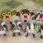 みんなで鳥軍団