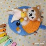 猿柴ちゃんとカワセミマットとピヨちゃんとアオムーチョ!