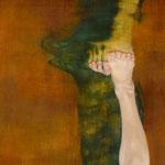「風のない子」The windless child 162.0×40.5/2015(第九十一回白日会展、文部科学大臣賞受賞)